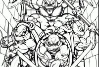 Nickelodeon Teenage Mutant Ninja Turtles Coloring Pages - Part 73 Coloring Page Printable Cute