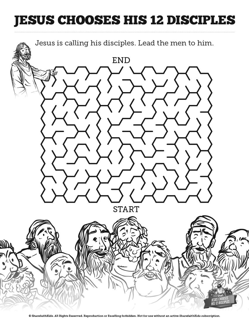 Nicodemus Coloring Pages  Download 18g - Free For kids