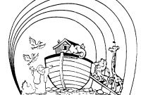 Noah's Ark Coloring Pages Printable - Image Noahs Ark Coloring Pages Pdf Sample Coloring Download