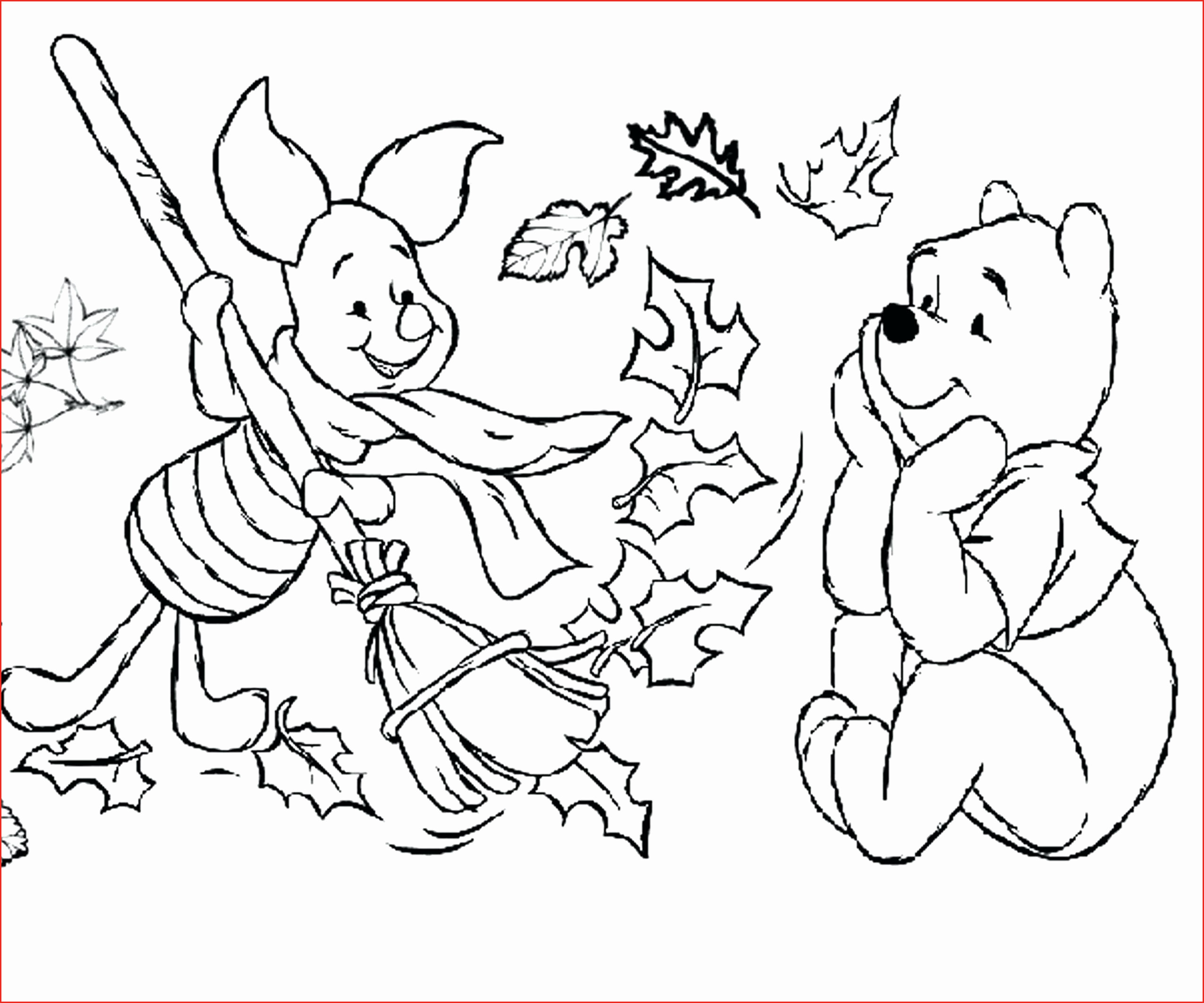 October Coloring Pages  Printable 3p - Free For Children