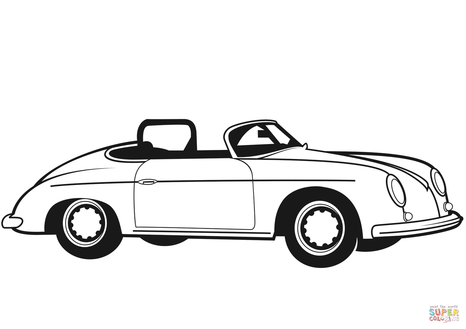 Old Cars Coloring Pages  to Print 20r - Save it to your computer
