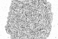 Optical Illusion Coloring Pages - Doodle City Doodle Art Doodling Adult Coloring Pages