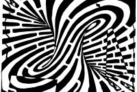 Optical Illusion Coloring Pages - Maze Of A Crazy Optical Illusion that Causes the Viewer to Think
