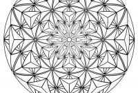 Optical Illusion Coloring Pages - Sacred Geometry Coloring Pages Coloring Home