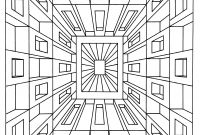 Optical Illusion Coloring Pages - to Print This Free Coloring Page Coloring Op Art Jean Larcher 1