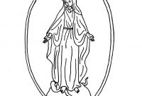 Our Lady Of Fatima Coloring Pages - Miraculous Medal Coloring Page O Mary Conceived without Sin Pray