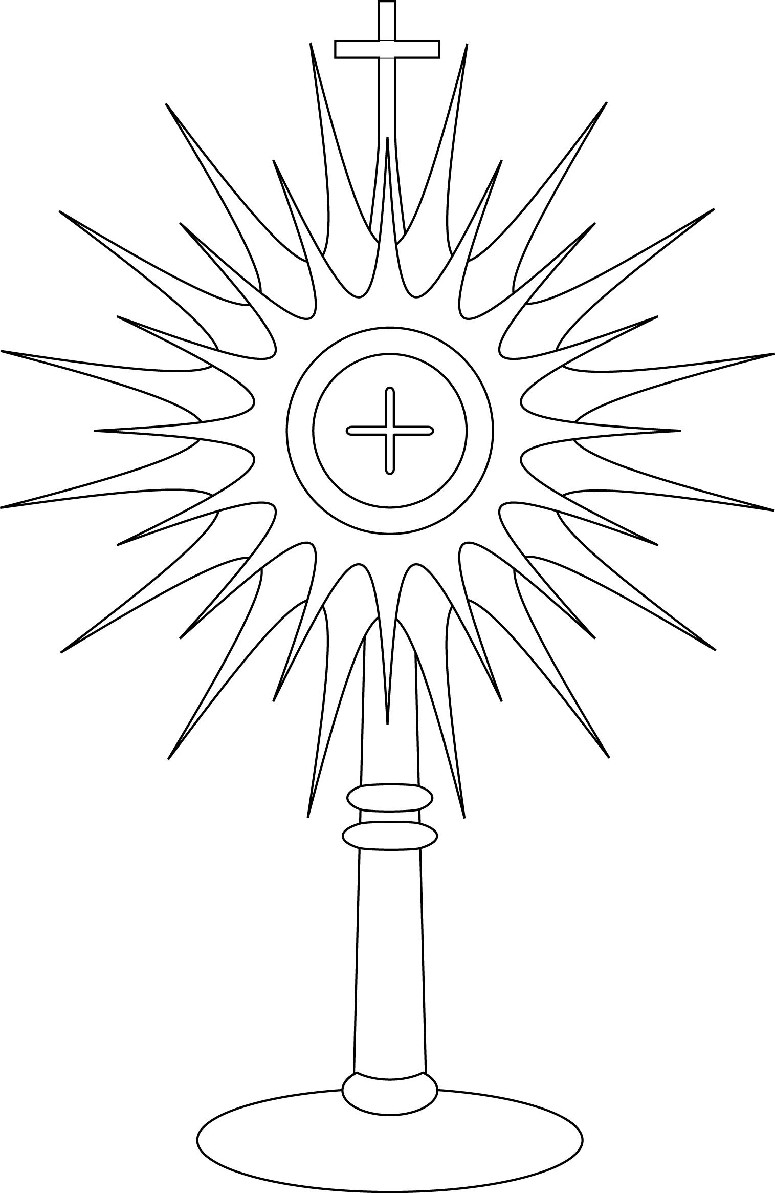 Our Lady Of Fatima Coloring Pages  Gallery 13c - Save it to your computer
