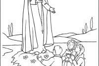 Our Lady Of Fatima Coloring Pages - Our Lady Fatima Coloring Pages Printable