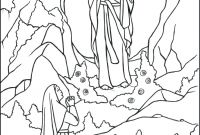 Our Lady Of Fatima Coloring Pages - Saint Mary Coloring Pages Our Lady Coloring Page Saint Mary Coloring