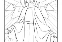 Our Lady Of Fatima Coloring Pages - St Mary Coloring Pages Best Hail Mary Coloring Sheet Collection