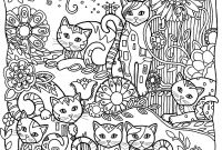 Pablo Picasso Coloring Pages - Cats Cutes Cats Adult Coloring Pages