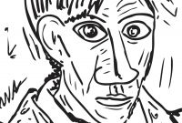 Pablo Picasso Coloring Pages - Famous Painting Colouring Pages – Be A Fun Mum