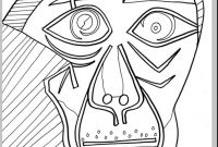 Pablo Picasso Coloring Pages - Picasso Coloring Pages