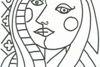 Pablo Picasso Coloring Pages - Pin De Daniela Izaguirre Em Second Grade Pinterest
