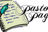 Pastor Appreciation Coloring Pages - April 2016 Messiah Newsletter