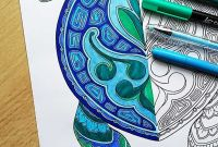 Peppermint Candy Coloring Pages - A Gorgeous Turtle Coloring Page for You to for Free and