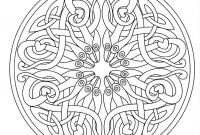 Peppermint Candy Coloring Pages - Free Coloring Page Coloring Mandala Adult 7 A Mandala Made Of An