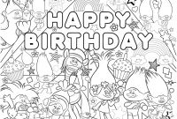 Personalized Happy Birthday Coloring Pages - 28 Collection Of Happy Birthday Coloring Pages for Sister