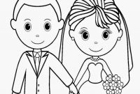 Personalized Wedding Coloring Pages - Clipart Wedding Coloring Book