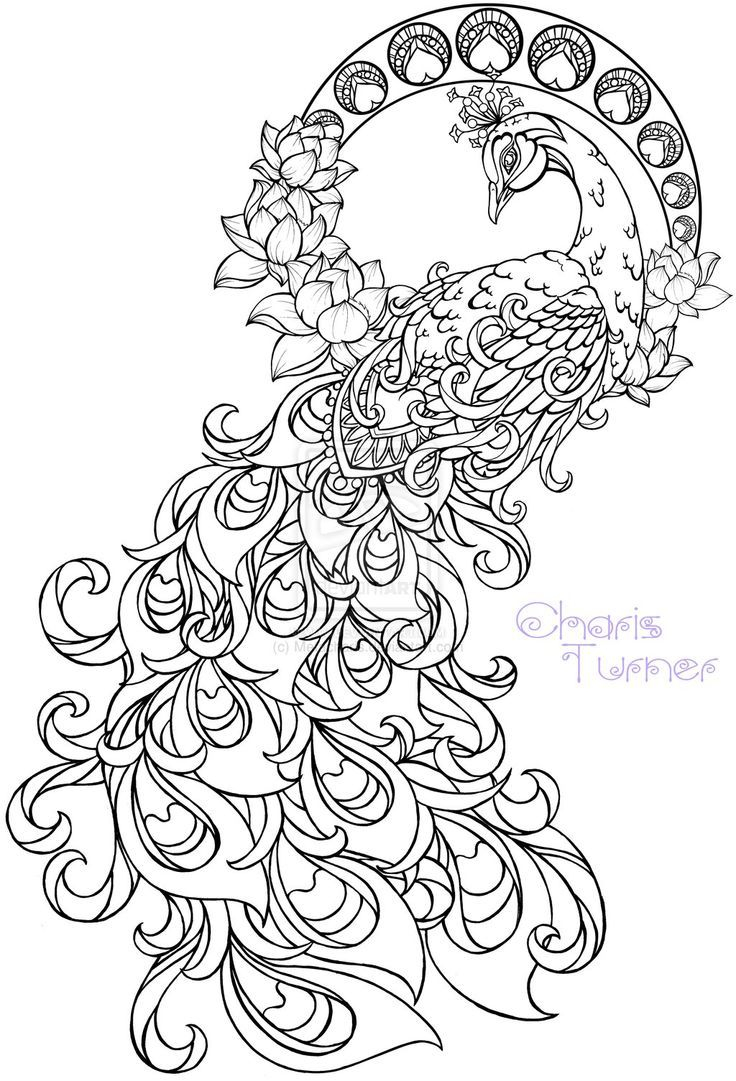 Pink Ribbon Coloring Pages