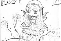 Pinterest Coloring Pages - Elegant Cute Anime Girl Coloring Pages