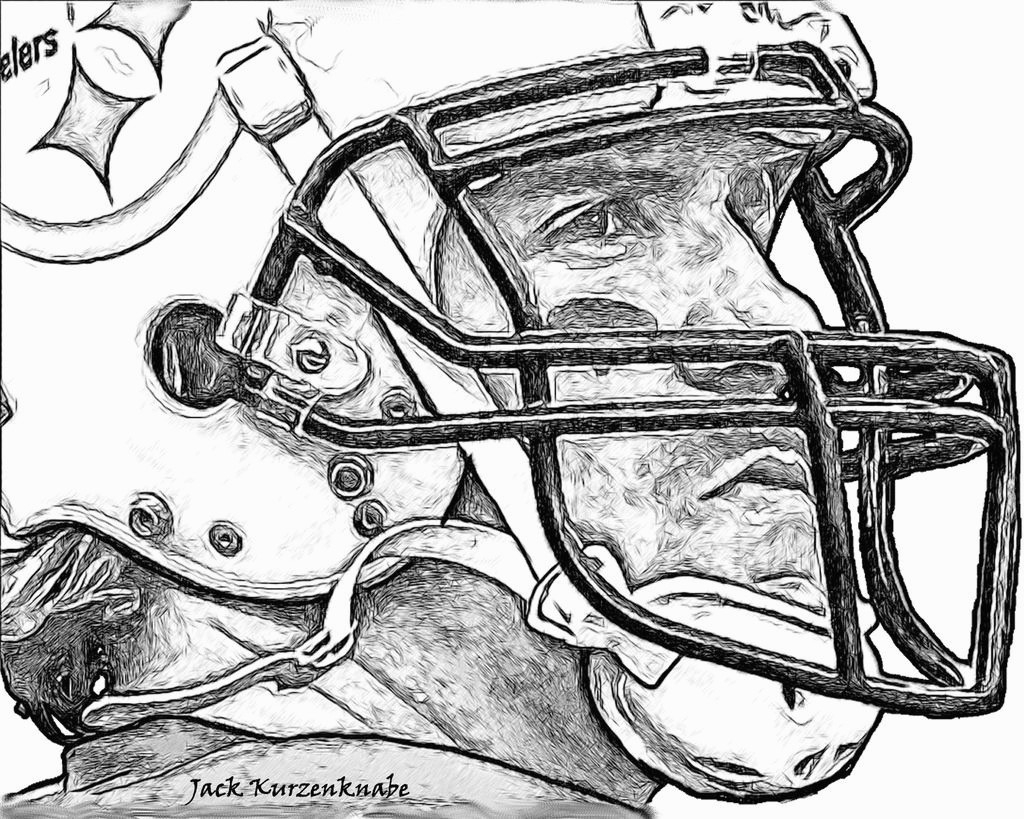 Pittsburgh Steeler Coloring Pages  Gallery 20m - To print for your project