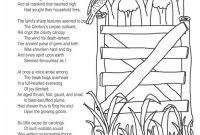 Poetry Coloring Pages - Coloring Page Poems the Darkling Thrush by Thomas Hardy