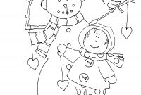 Poetry Coloring Pages - Dearie Dolls Digi Stamps