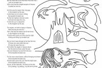 Poetry Coloring Pages - Poetry Coloring Pages to Print
