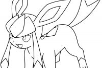 Pokemon Eevee Evolutions Coloring Pages - Glaceon Pokemon Coloring Page Pokemon Pinterest