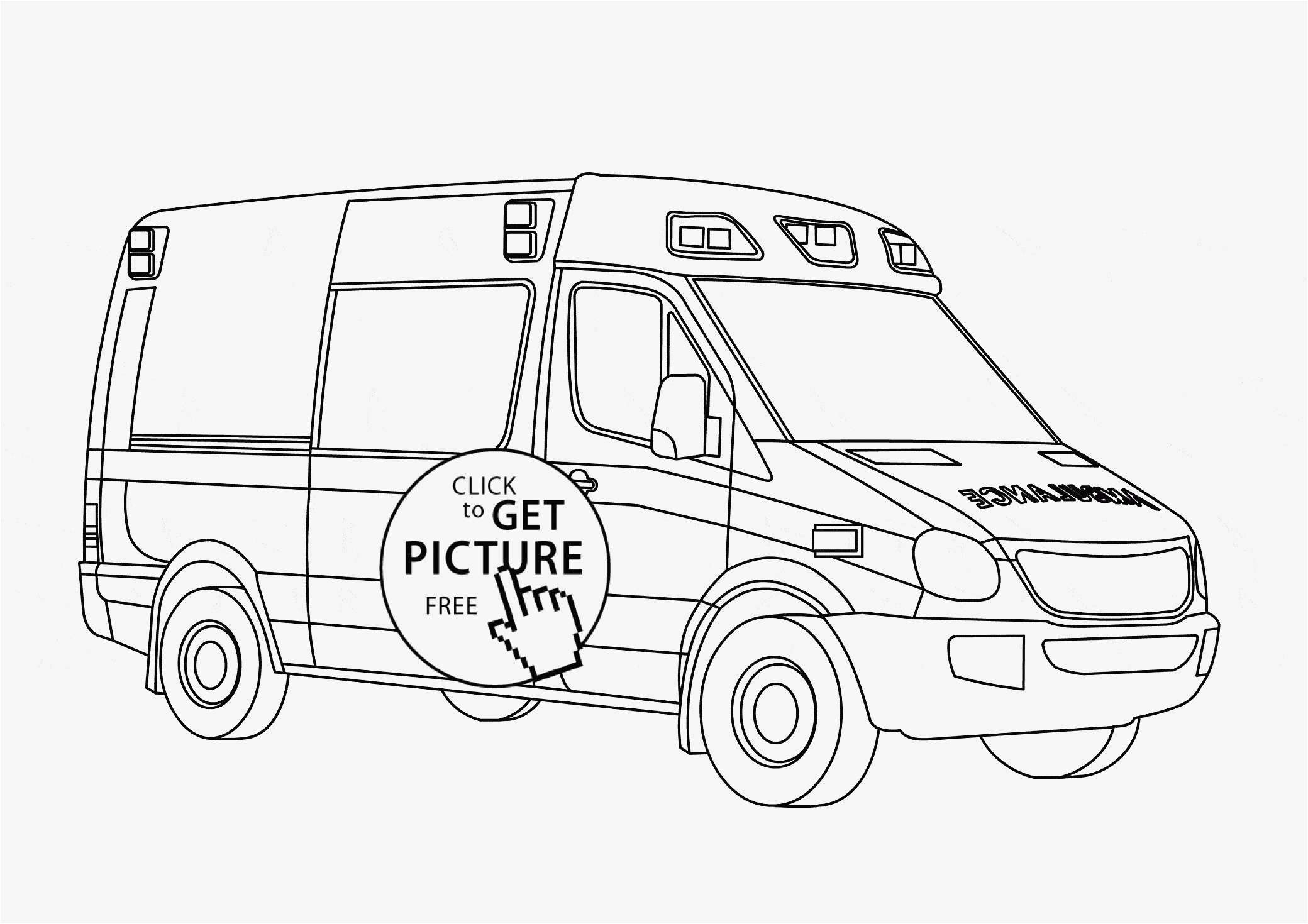Police Car Coloring Pages