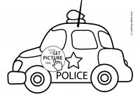 Police Car Coloring Pages - Beautiful Police Car Coloring Pages to Print