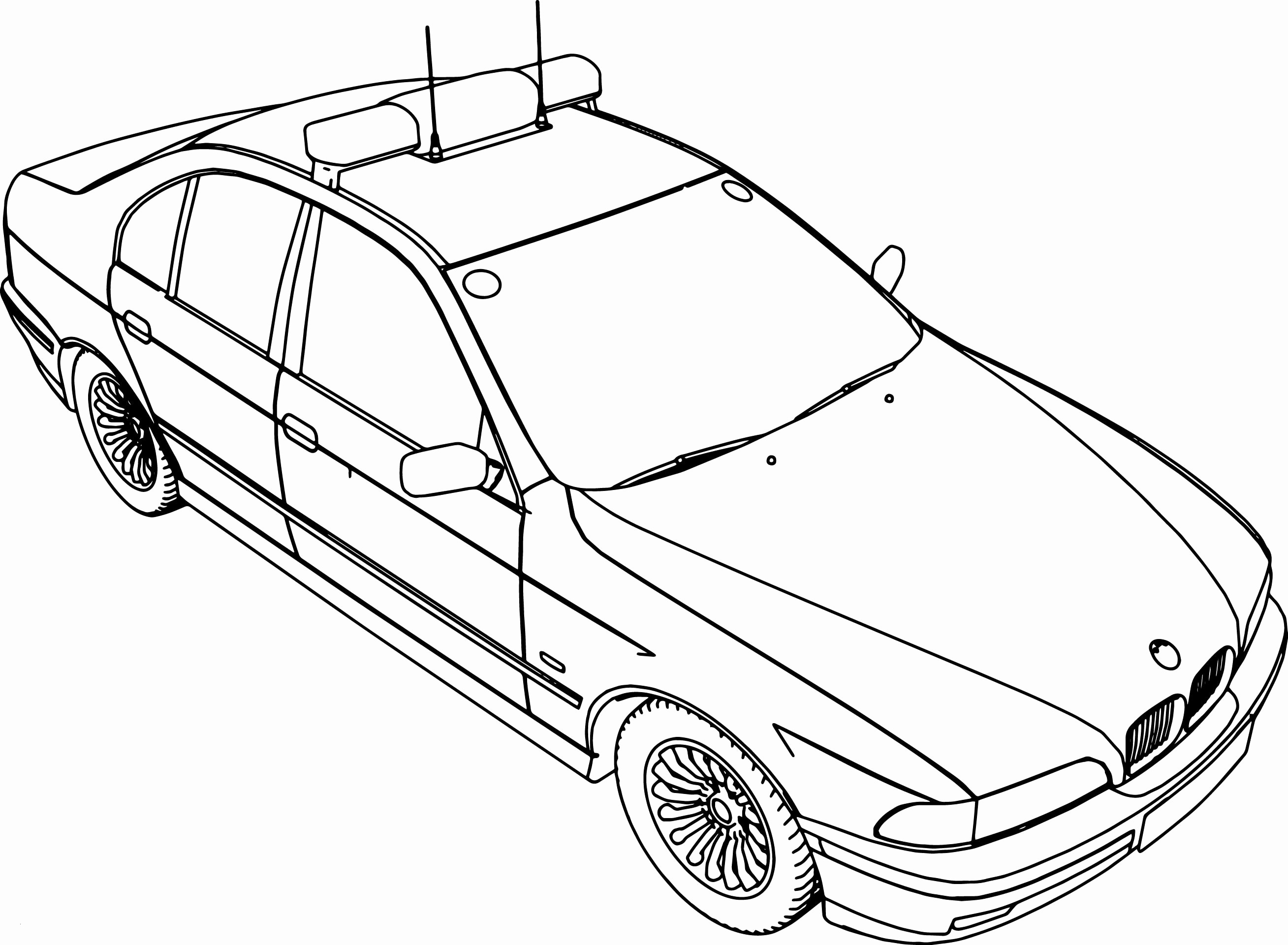 Police Car Coloring Pages  Printable 6c - Free For kids