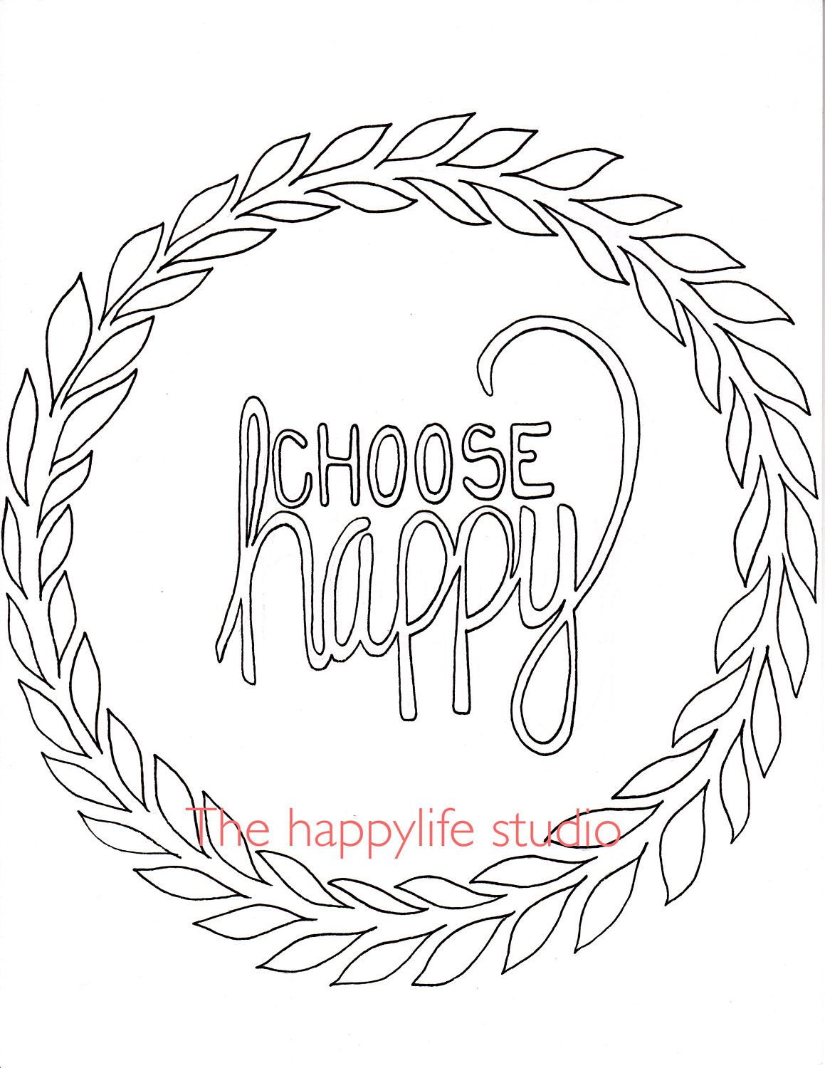 Positive Affirmation Coloring Pages Collection | Free ...