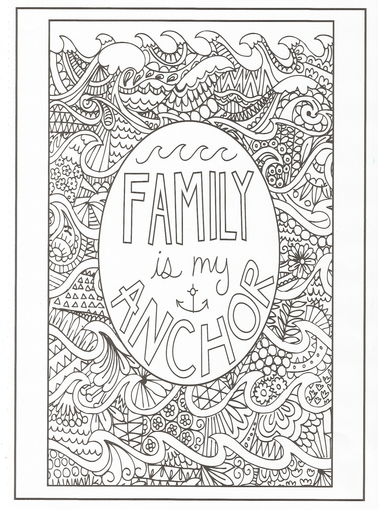 Positive Affirmation Coloring Pages  Collection 13r - Free For kids
