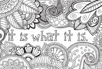 Positive Affirmation Coloring Pages - Zendoodle Coloring Uplifting Inspirations