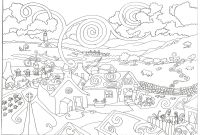 Postcards Coloring Pages - Coloring Pages for Adults Free