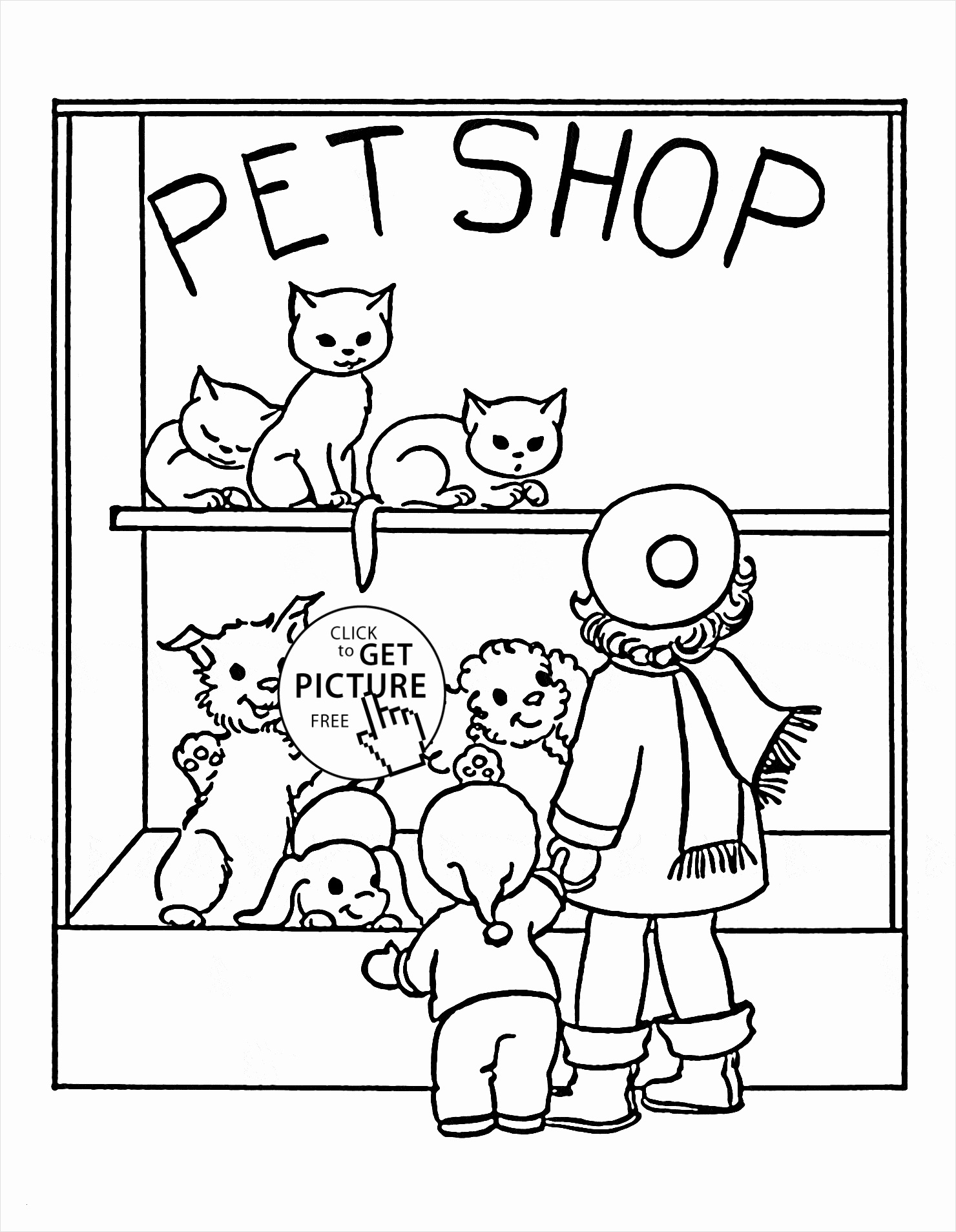 Poster Size Coloring Pages  to Print 3b - Free Download
