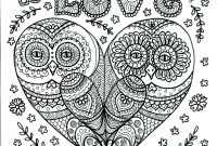 Poster Size Coloring Pages - Owl You Need is Love Poster by Chubby Mermaid On Etsy