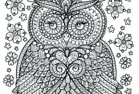 Poster Size Coloring Pages - Poster to Color Size 11x14 Owl Dreamer Door Chubbymermaid