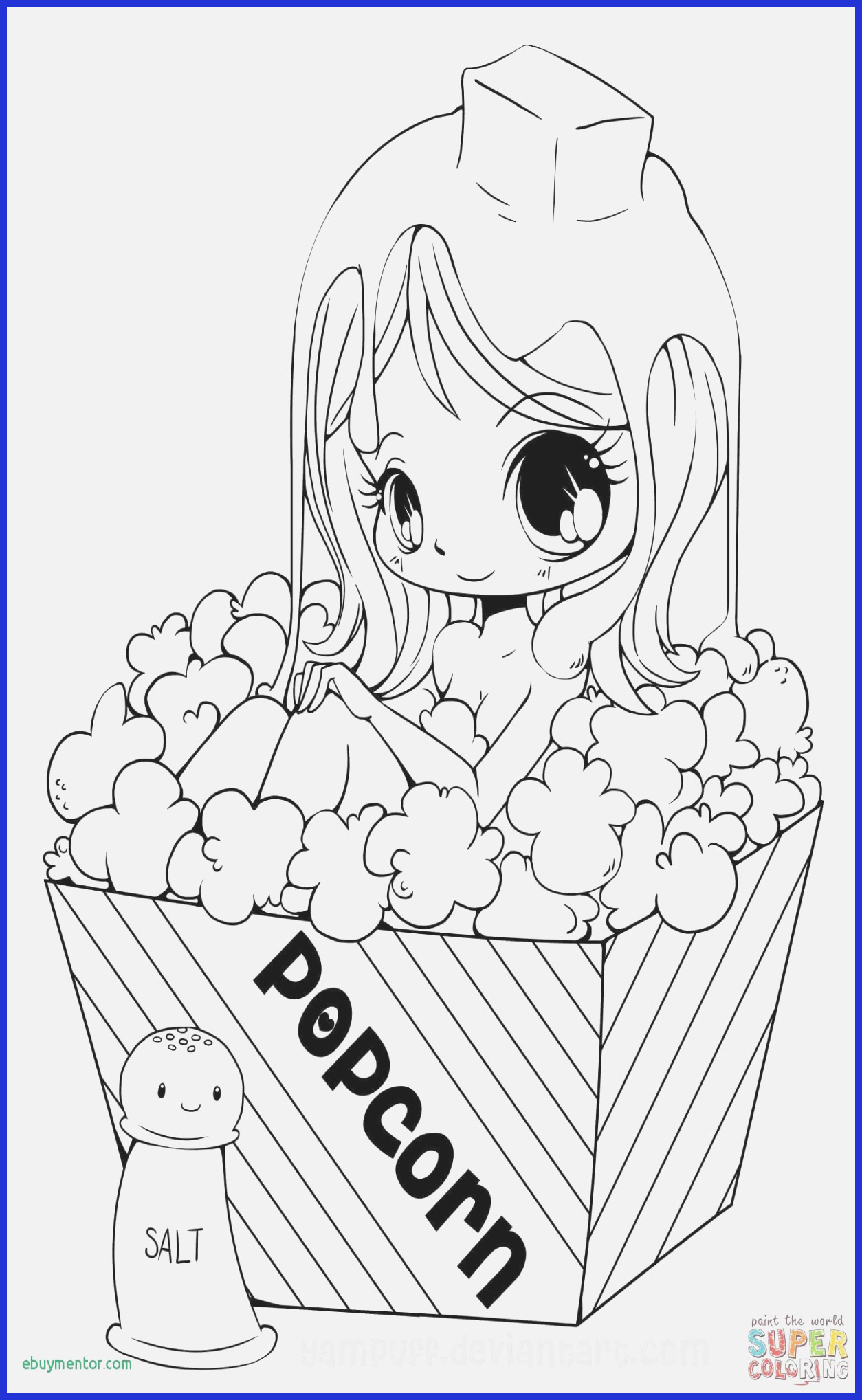 Printable Anime Coloring Pages  to Print 17c - Free Download