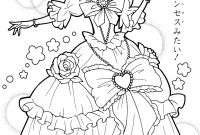 Printable Anime Coloring Pages - Mahou Tsukai Precure Anime Coloring Pages Pinterest