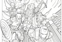 Printable Avengers Coloring Pages - Coloring Pages Knockout Avengers Coloring Page Marvel S the