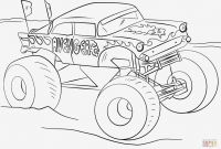 Printable Coloring Pages Monster Trucks - Printable Coloring Pages Monster Trucks