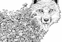 Printable Coloring Pages Of Wolves - Adult Coloring Pages Wolves