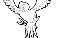 Printable Hummingbird Coloring Pages - This Tropical Bird Coloring Page is Awaiting Your Beautiful Tropical