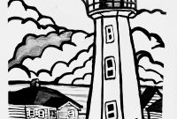Printable Lighthouse Coloring Pages - Free Printable Lighthouse Coloring Pages Cape Anguille Lighthouse
