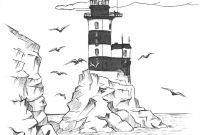 Printable Lighthouse Coloring Pages - Lighthouse Coloring Pages Free