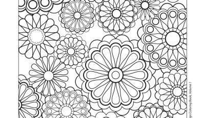 Printable Mosaic Coloring Pages - Design Patterns Coloring Pages Free Coloring Pages