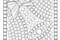 Printable Mosaic Coloring Pages - Mosaic Templates Printable Inspirational 30 Inspirational Mosaic